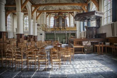 Interieur Broeker Kerk