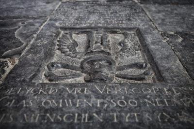Grafsteen Broeker Kerk