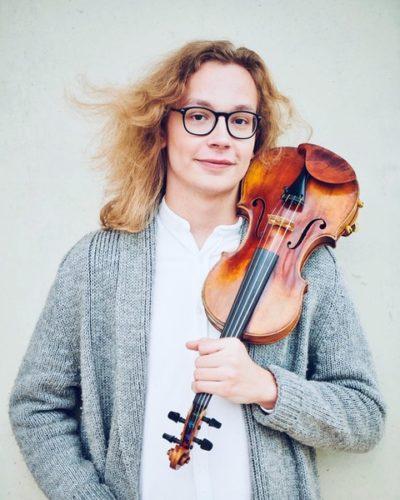 violist Tim de Vries