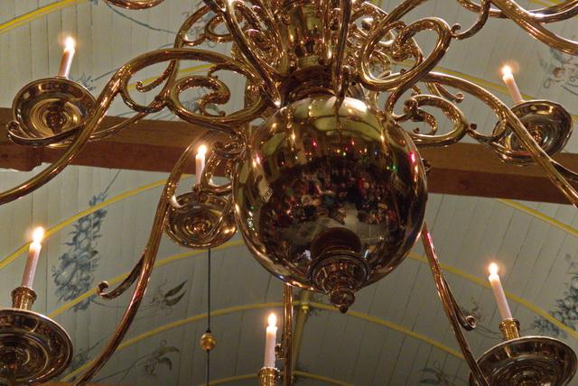Kroonluchter Broeker Kerk